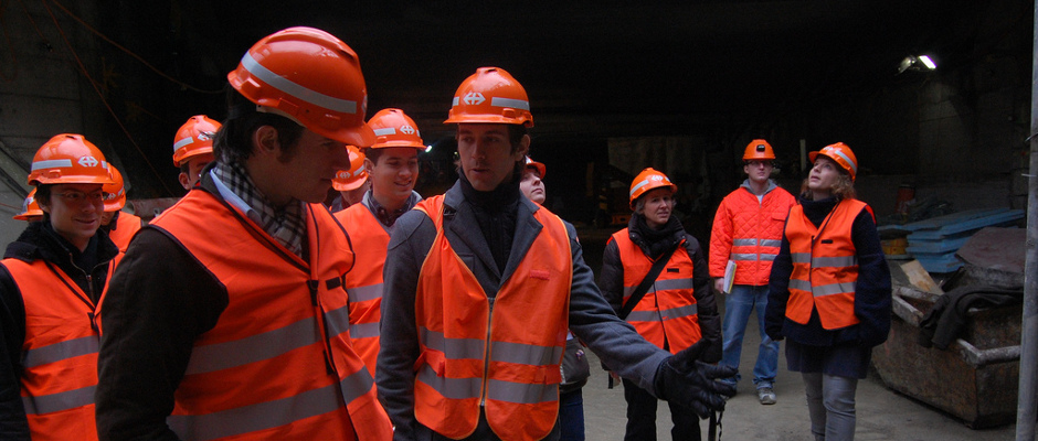 LUC Switzerland: Visit of the Durchmesserlinie with Holcim