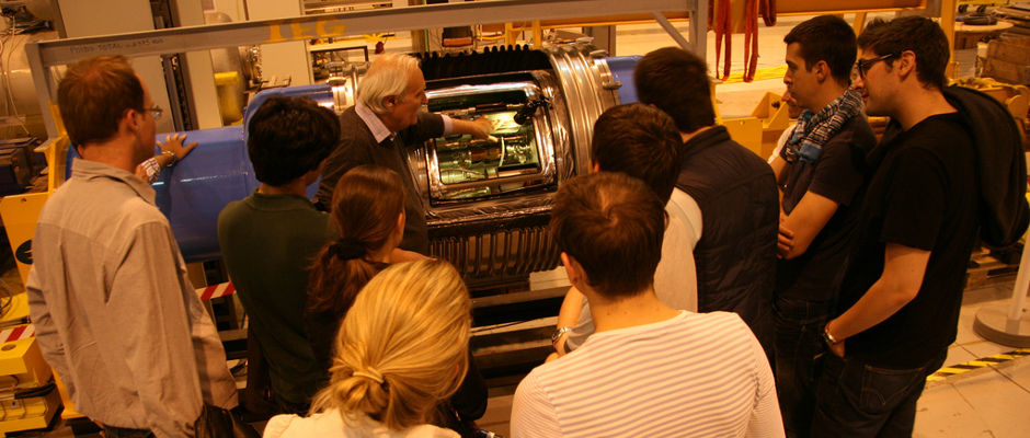 The UAA visits CERN