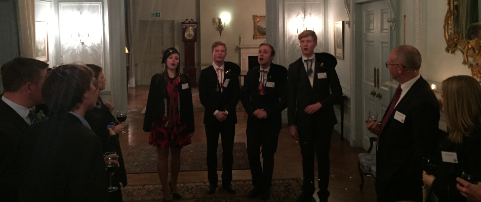 Glamorous Event at the Swedish Ambassador's Residence in London