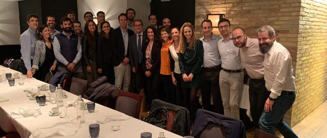 UAA Barcelona meets former president of Catalonia